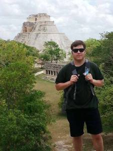 Trey in the Yucatan/ Photo by Trey Vernaci