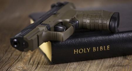 bible and gun p&w